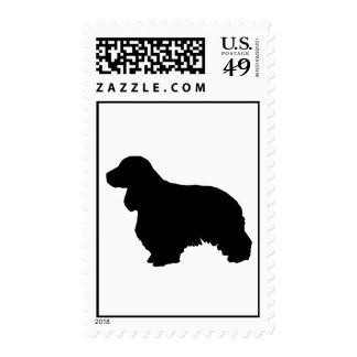 Cocker spaniel stamps