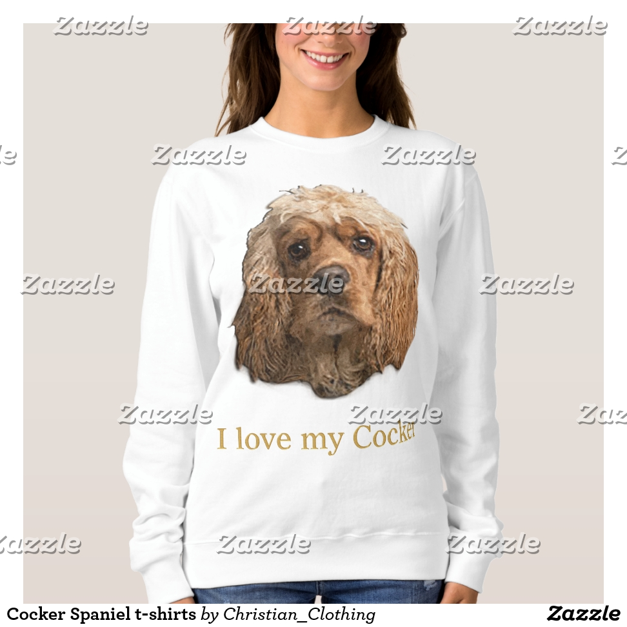 Cocker Spaniel t-shirts - Best Selling Long-Sleeve Street Fashion Shirt Designs