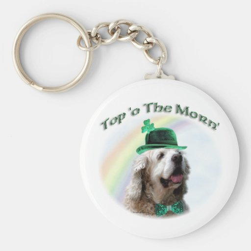 Cocker Spaniel Top of the Morn Keychain