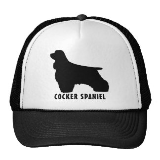 Cocker Spaniel Trucker Hat
