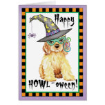 Cocker Spaniel Witch Greeting Card