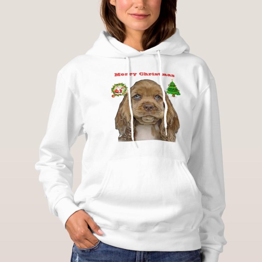 Cocker spaniel xmas t-shirt - Best Selling Long-Sleeve Street Fashion Shirt Designs