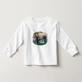 Cocker Spaniels (two buff) Toddler T-shirt