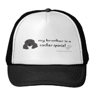 CockerSpanielBlackBrother Gorro De Camionero