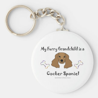 CockerSpanielBrown Keychain