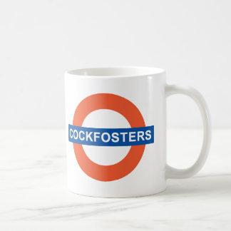 Cockfosters-Underground Classic White Coffee Mug
