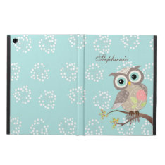 Cocking Head New Fancy Owl Powis Ipad Air Case at Zazzle
