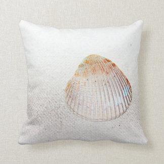 cockle shell back light seashell pillows