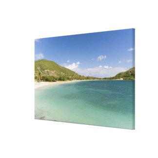 Cockleshell Bay, southeast peninsula, St Kitts, Canvas Print