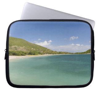 Cockleshell Bay, southeast peninsula, St Kitts, Laptop Computer Sleeve
