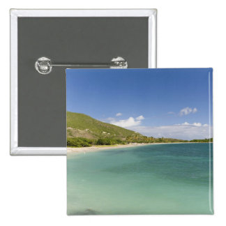 Cockleshell Bay, southeast peninsula, St Kitts, Pinback Button