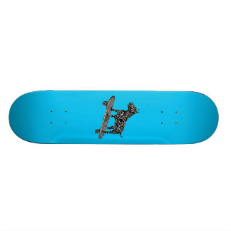 Cockney Slang Bull Terrier Skateboard