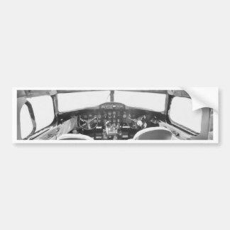Cockpit Bumper Sticker