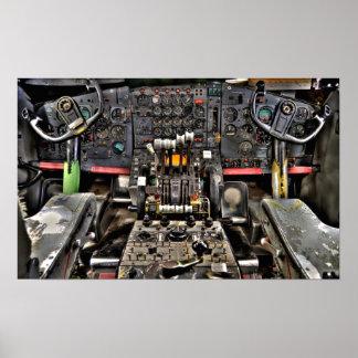 Cockpit Controls Posters