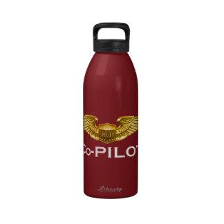 Cockpit Crew: Co-Pilot: Kitchen: Mugs, Travel Mugs Water Bottles