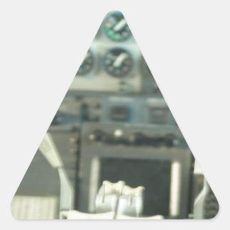 Cockpit Triangle Sticker