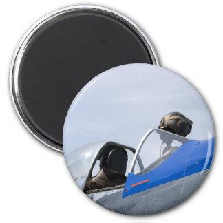 CockpitHelmeta051609 Refrigerator Magnets