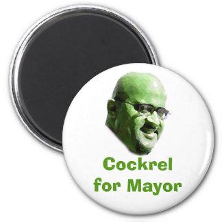 Cockrel para el alcalde iman de frigorífico