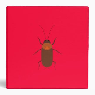 Cockroach 3 Ring Binder