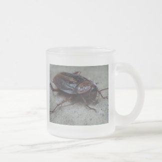 Cockroach Frosted Glass Coffee Mug