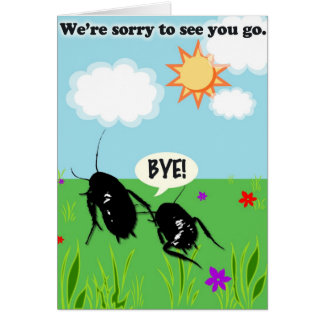 Cockroach Greeting Cards