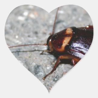 Cockroach! Heart Sticker