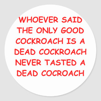 COCKROACH.png Classic Round Sticker
