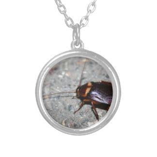 Cockroach! Round Pendant Necklace