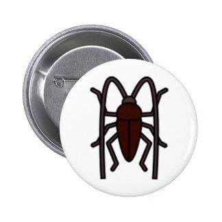 Cockroach Standard Round Button