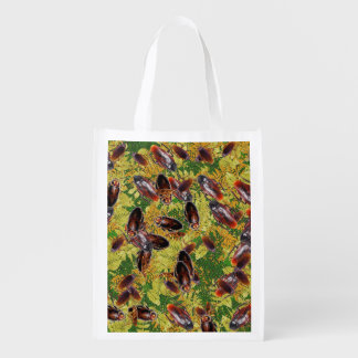 Cockroaches Reusable Grocery Bag