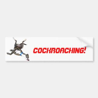 Cockroaching Bumper Sticker