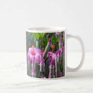 Cockscomb and Hibiscus Coffee Mugs