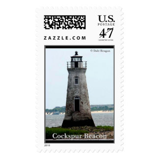 Cockspur Beacon - Fort Pulaski National Monument Postage