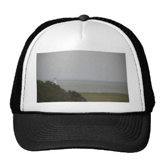 cockspur  island lighthouse 2 trucker hat