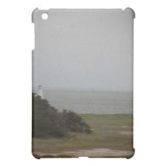 cockspur  island lighthouse 2 case for the iPad mini