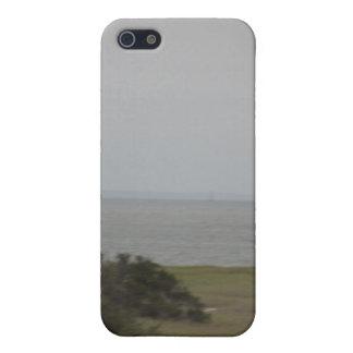 cockspur  island lighthouse 2 iPhone 5 case