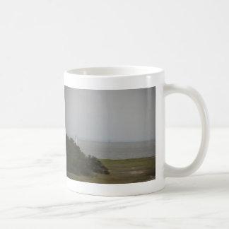 cockspur  island lighthouse 2 coffee mugs