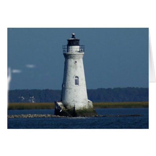 Cockspur Island Lighthouse Card