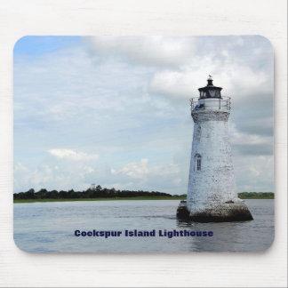 Cockspur Island Lighthouse Mouse Pad