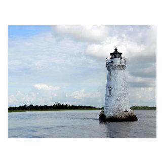 Cockspur Island LIghthouse Postcard