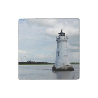Cockspur Lighthouse Stone Magnet