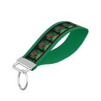 Cocksure I'm Irish Too! Wrist Keychain