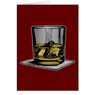 Cocktail and Napkin Design Card