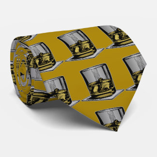 Cocktail and Napkin Design Neck Tie