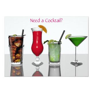 Cocktail Bar invitation