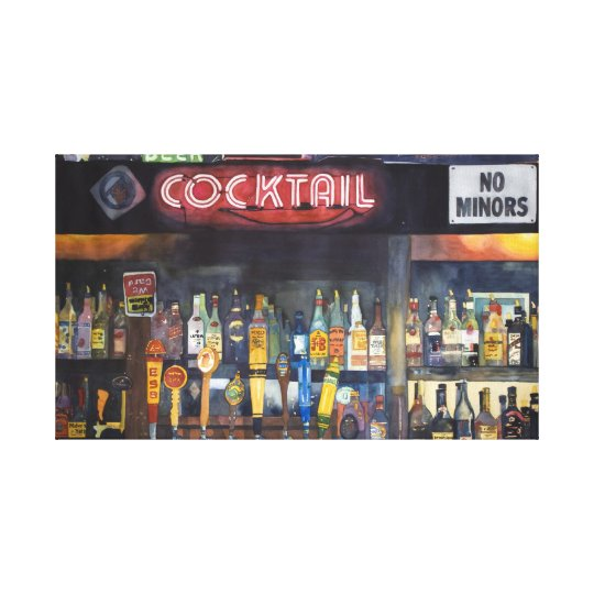 Cocktail Canvas Print