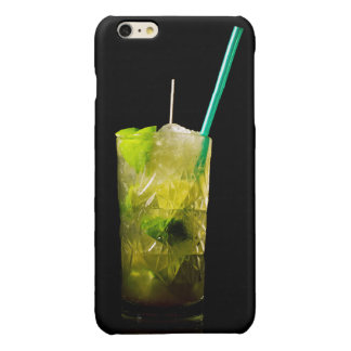 Cocktail covering glossy iPhone 6 plus case