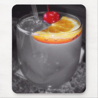 Cocktail Drink Photo Mouse Pad