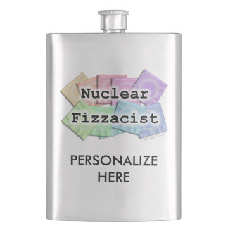 COCKTAIL FLASK - NUCLEAR FIZZACIST (Bartenders!)