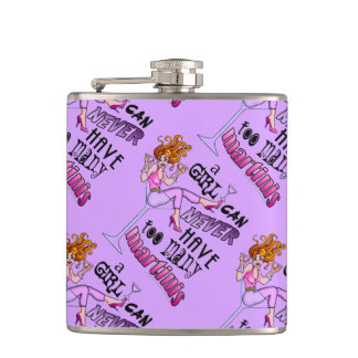 COCKTAIL FLASK - TOO MANY MARTINIS